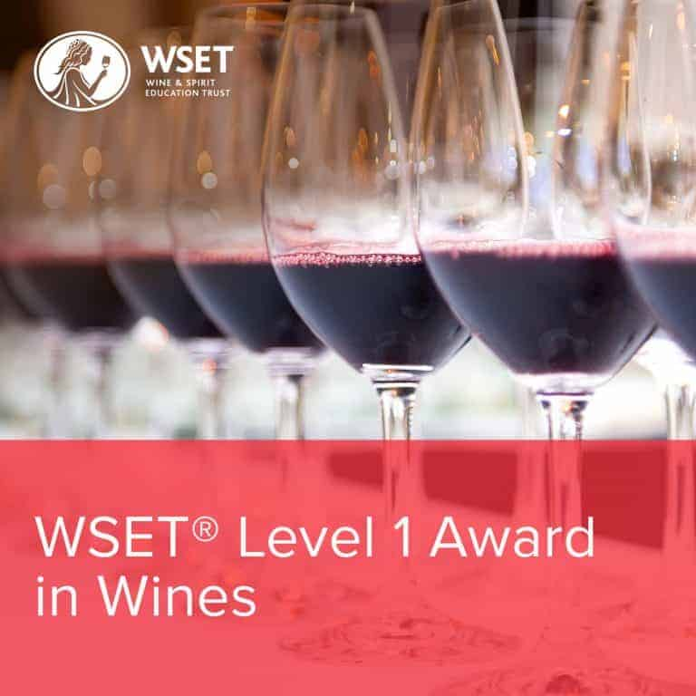 WSET Level 1 Award in Wines - Rack and Return
