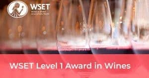 WSET LEVEL 1 - Rack and Return